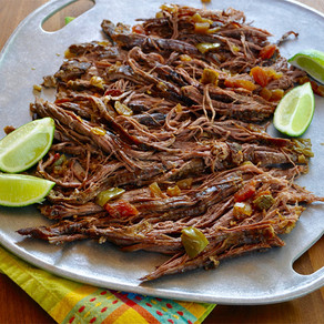Braised Cuban Flank Steak