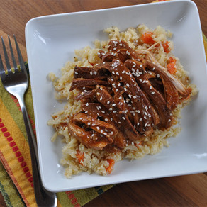 Sweet Tangy Slow Cooker Chicken