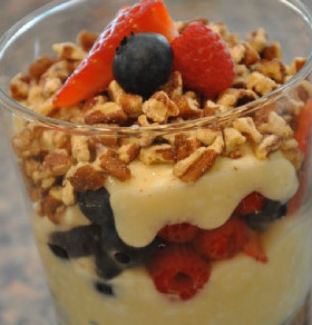 Breakfast Protein Parfait