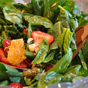 Best Spinach Salad Ever