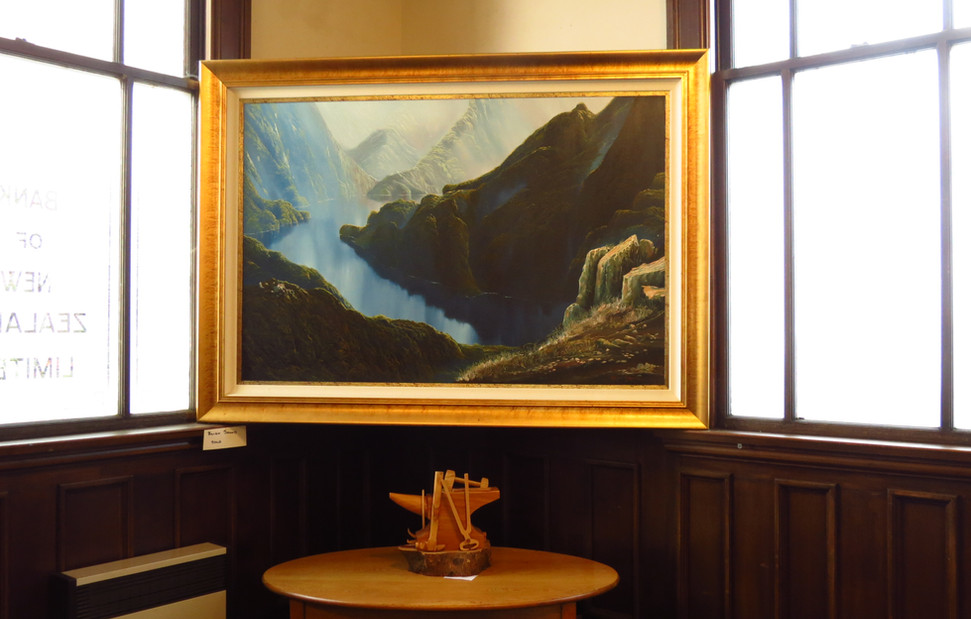 The Old Bank is a great space for Art