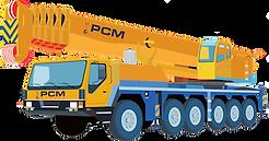PCM Cranes - used mobile crane Liebherr