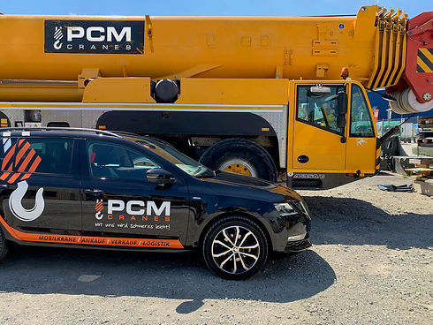 About PCM Cranes - Crane sales worldwide