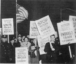 הפגנה נגד גרמניה