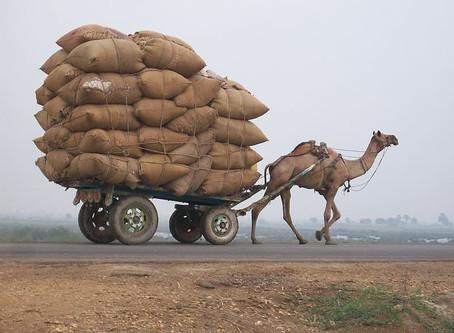 משל העגלה המלאה והעגלה הריקה