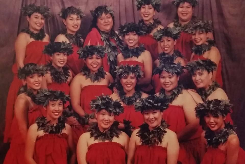 e hula mau wāhine line 1997