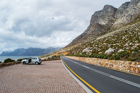 Coastal road, Western Cape, South Africa