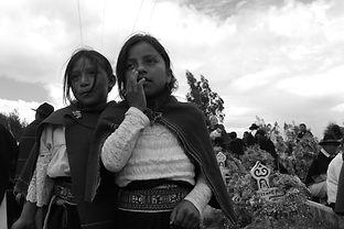 día de los muertos in Salasaka, Ecuador