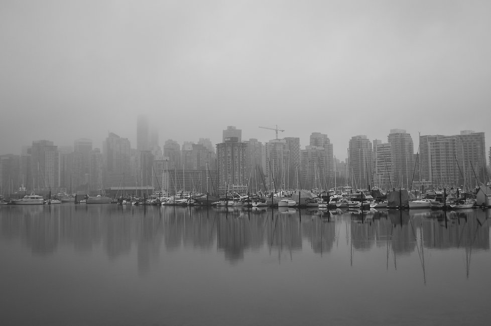 Downtown Vancouver Skyline, British Colombia