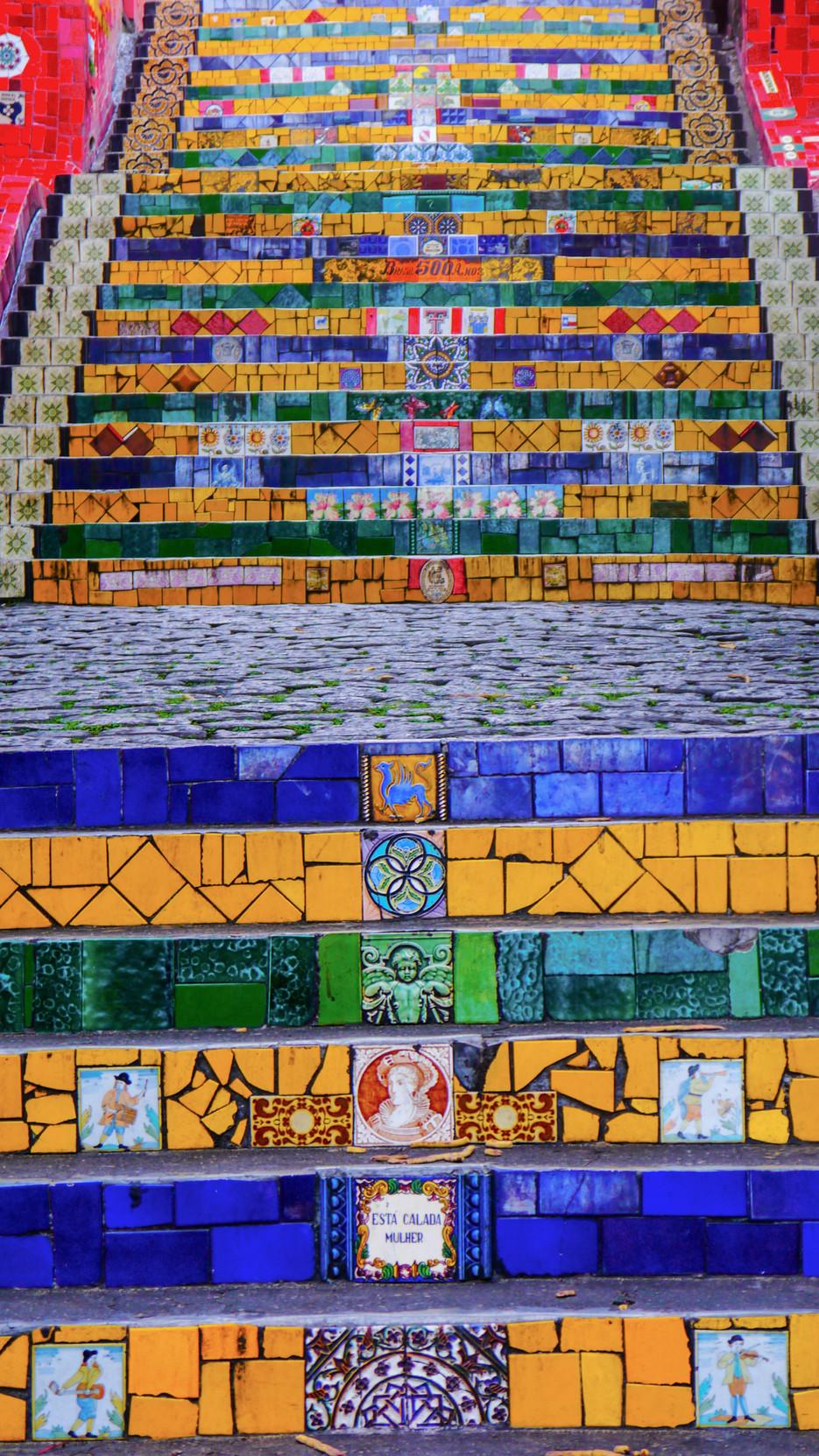 Escadaria Selarón, Rio de Janeiro / Brazil · 2014