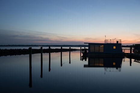 House boat in Denmark