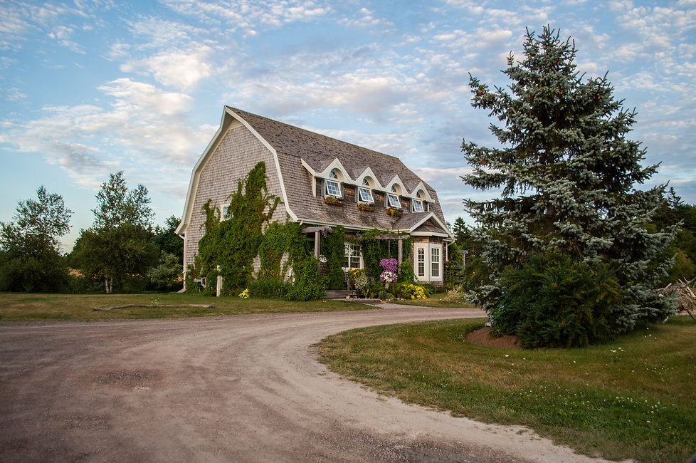 Historic house in PEI, Canada
