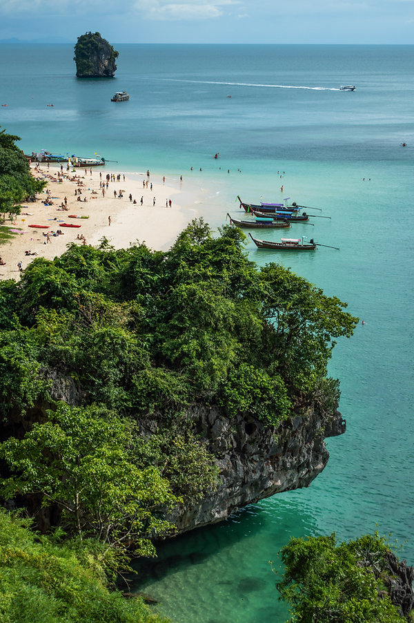 Phra Nang Beach in Thailand's Krabi Region