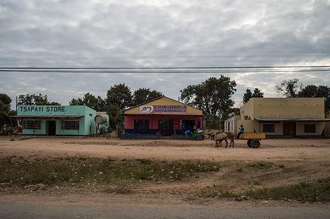 roadside town in Zimbabwe