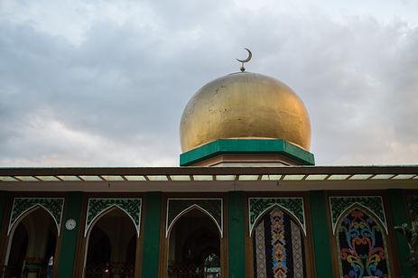 Golden Mosque in Manila, Philippines
