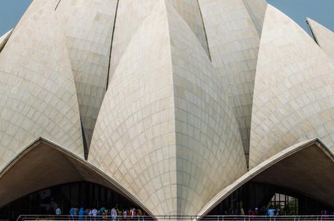 Lotus Temple, New Delhi / India · 2015