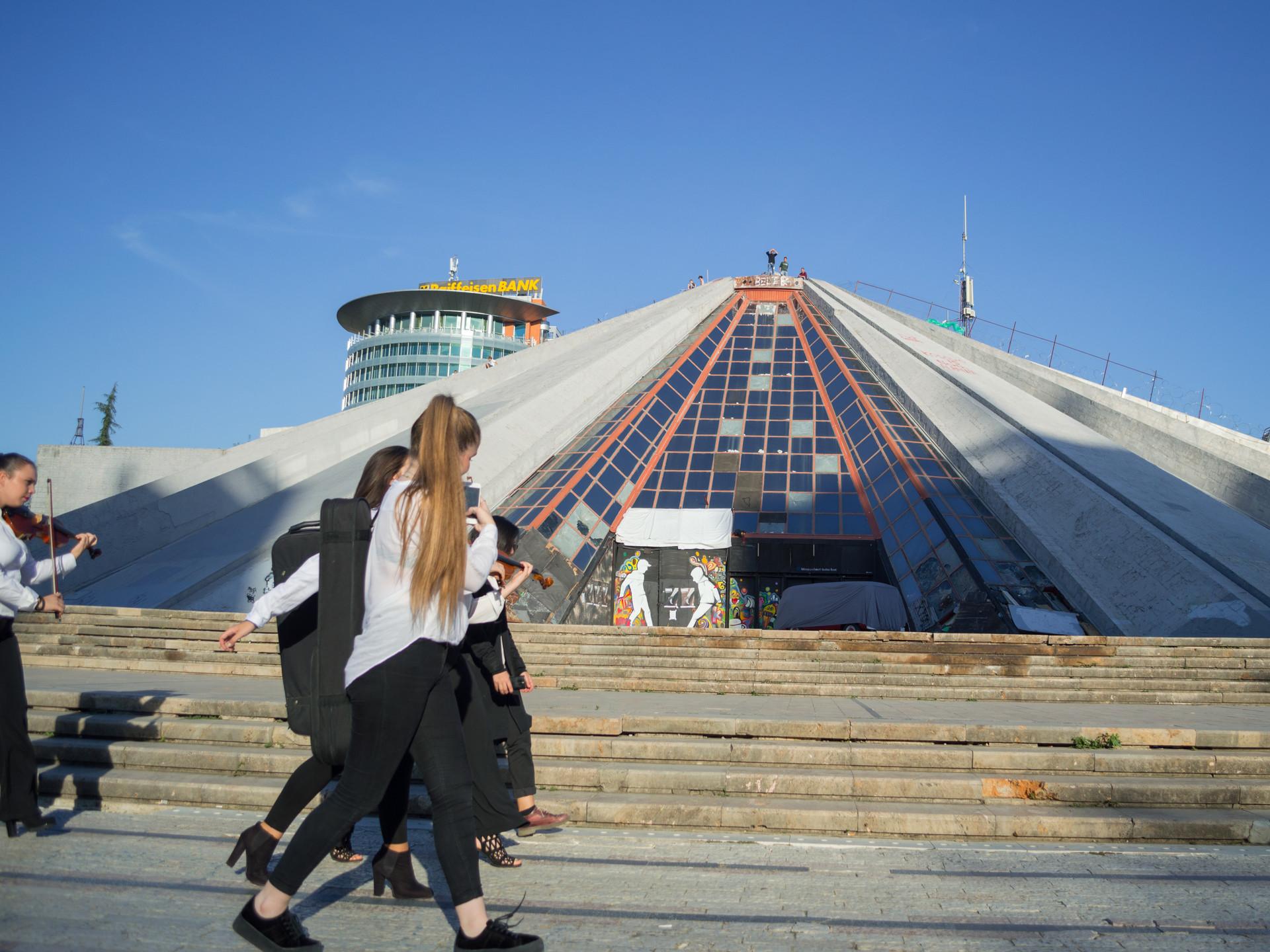 Pyramid of Tirana / Albania · 2017