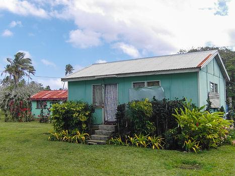 House in the countryside of Tongatapu, Tonga