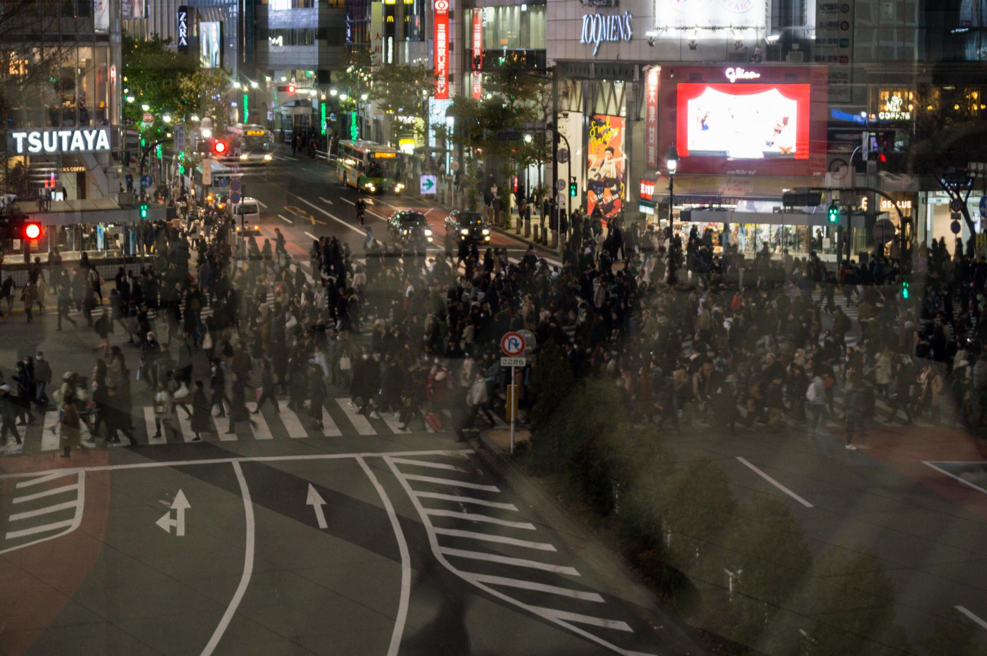 Shibuya Crossing, Tokyo / Japan · 2016