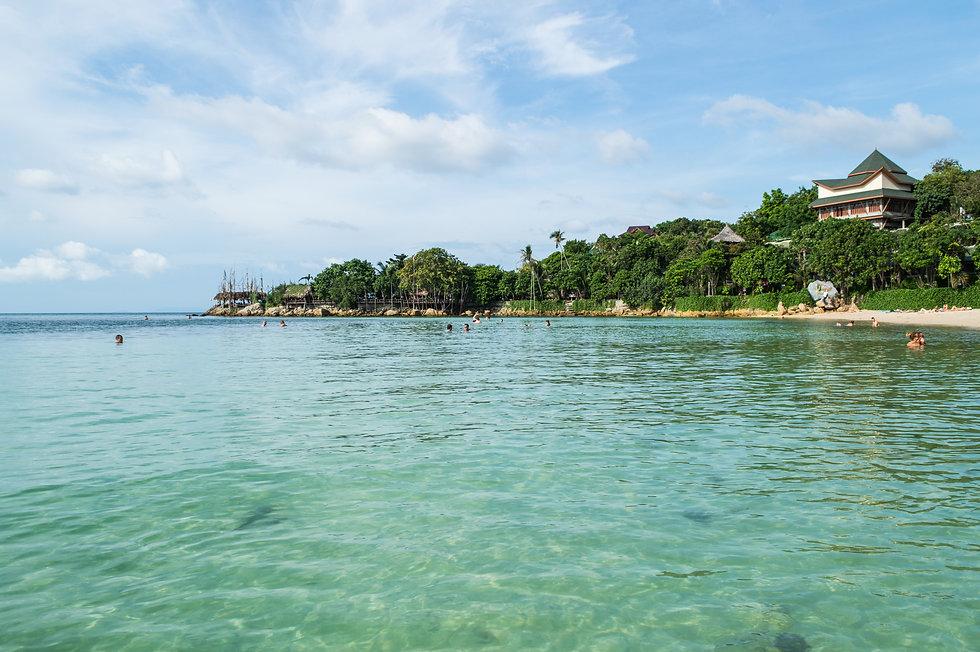 Beach in Ko Pha Ngan, Thailand