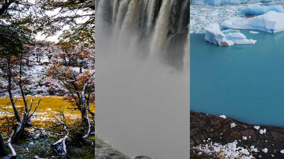 El Chalten & Iguazu & Perrito Moreno / Argentina