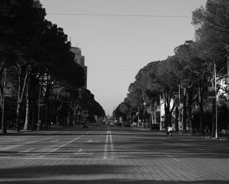 Dëshmorët e Kombit Boulevard, Tirana / Albania · 2017