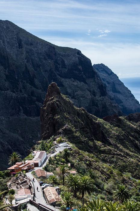 Masca village in Tenerife, Spain   