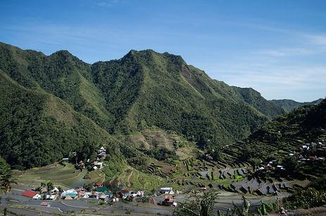 Rice terraces in Batad, Philippines