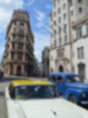 Shared cabs in Havana, Cuba