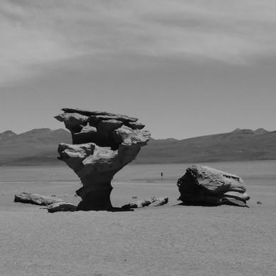 Árbol de Piedra, Salar de Uyuni / Bolivia · 2014