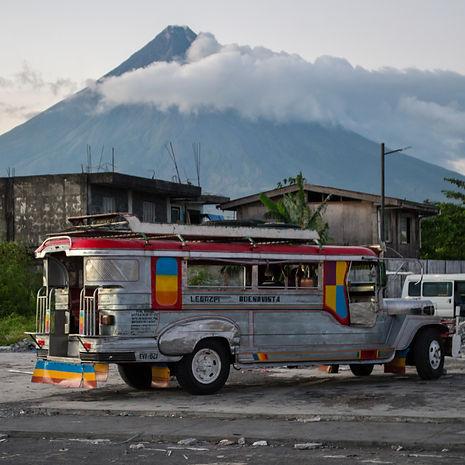 Jeepney in Legazpi, Philippines