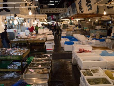 Tsukiji Fish Market, Tokyo / Japan · 2016