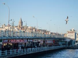 Galata Bridge, Istanbul / Turkey· 2015