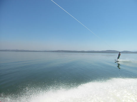Wakeboarding in Acapulco, Mexico
