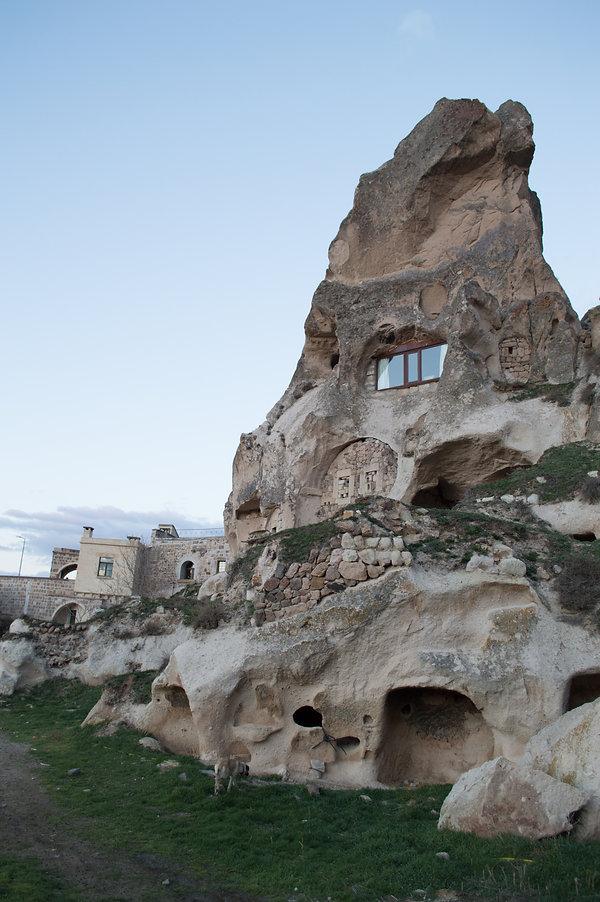 Stone house in Cappadocia, Turkey