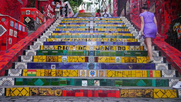 Escadaria Selarón, Rio de Janeiro / Brazil