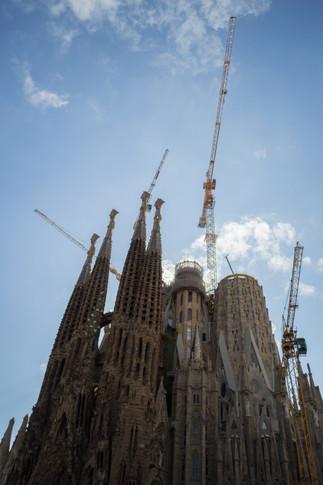 La Sagrada Familia, Barcelona / Spain · 2017