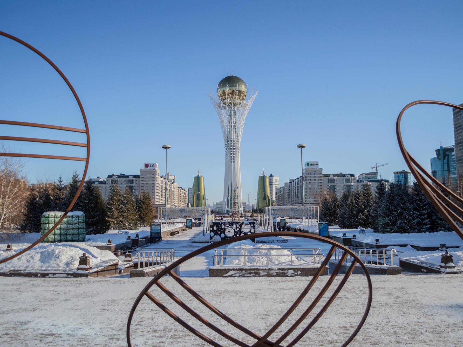 Baiterek Tower, Nur-Sultan / Kazakhstan · 2018