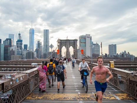 Brooklyn Bridge, Brooklyn, New York / USA · 2016