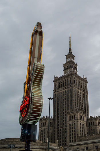 Hardrock Cafe Warsaw, Poland
