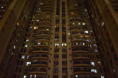 Apartment building in Chandivali, Mumbai, India
