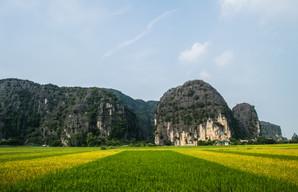 near Tam Coc / Vietnam