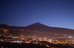 El Teide Volcano and Orotava Valley, Tenerife / Spain