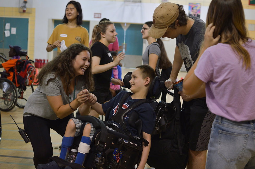 Special Olympics for differently abled kids