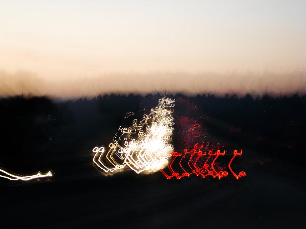 evening commute in San Diego