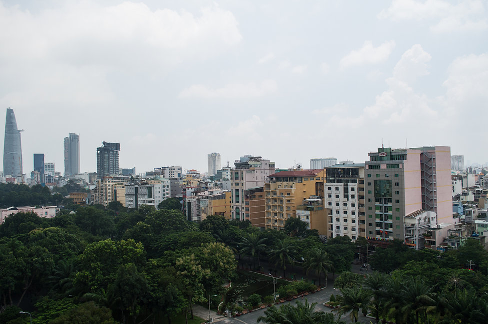 Skyscrapers in Ho Chi Minh City, Vietnam