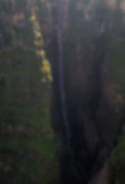 Jinbar waterfall in the Ethiopian Simien Mountains