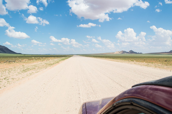 between Walvis Bay and Solitaire / Namibia