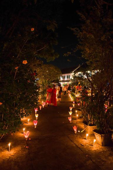 Boun Lai Heua Fai lantern festival in Luang Prabang, Laos