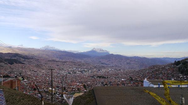 View from El Alto onto La Paz, Bolivia